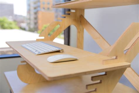 ikea sit and stand desk affordable diy standing desks ideas made from wood