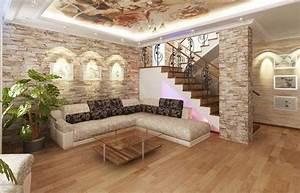 Steinwand Wohnzimmer Ideen : erstaunliche architektur von wohnzimmer steinwand bilder bieten attraktives aussehen im moderne ~ Sanjose-hotels-ca.com Haus und Dekorationen