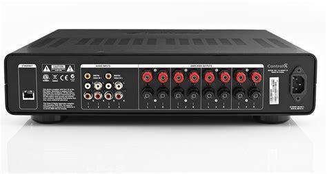 zone multi audio control4 amp room