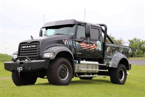 Volvo, Mack Unveil New 'ride For Freedom' Trucks
