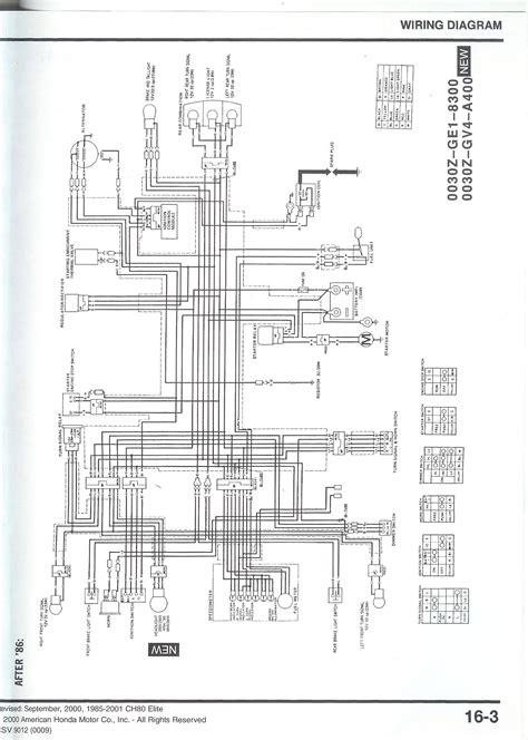 wiring diagram for honda elite honda elite 150 wiring best site wiring harness
