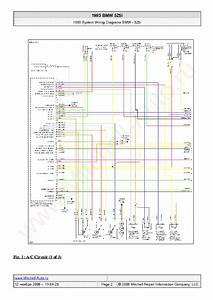 Bmw 525i 1993 Wiring Diagrams Sch Service Manual Download