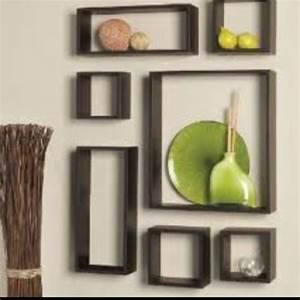 Cube shelves for wall decor decorating ideas