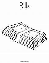Coloring Bills Money Pages Chiefs Kansas Popular Noodle Coloringhome sketch template