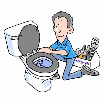 Clipart Water Leaky Daley Paul Toilets Common