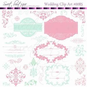 mint rose wedding digital frames clip art clipart With buy digital wedding invitations
