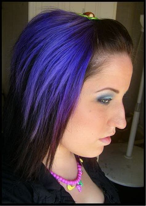 And Purple Hairstyles by Purple And Black Hairstyles