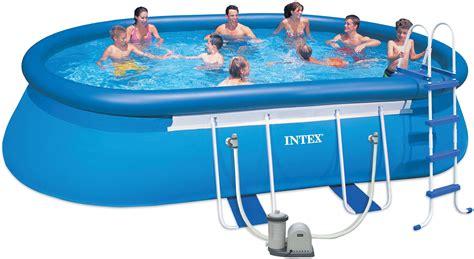 Ersatzteile Intex Pool by Frame Pool Oval 610 X 366 X 122 Cm Pools Shop