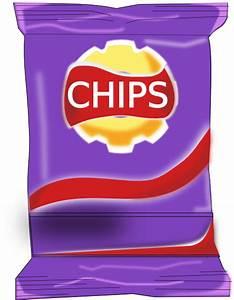 Chips Packet Clip Art at Clker.com - vector clip art ...