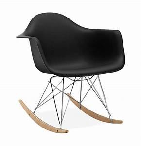 Chaise À Bascule Eames : chaise bascule rar style eames secret design ~ Mglfilm.com Idées de Décoration
