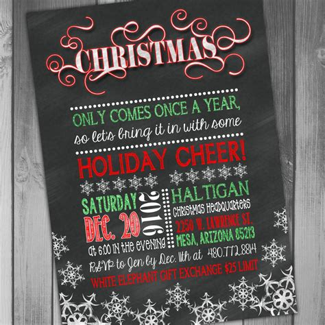 christmas vacation party invitations invites invitations templates