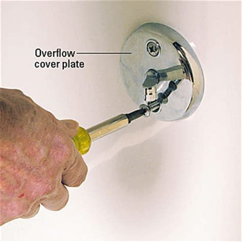 bathtub overflow plate replacement replacing a bathtub how to repair or replace a bath tub