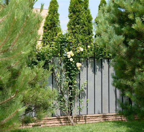 Garten Sichtschutz Aus Metall by Sichtschutz Im Garten Metall