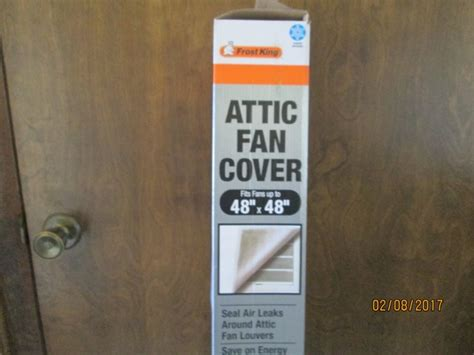 whole house attic fan cover brand new frost king attic fan whole house fan cover nex