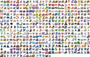 full pokemon go pokedex images