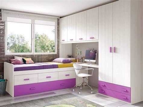 chambre de chambre de fille ado sympa avec lit gigogne glicerio