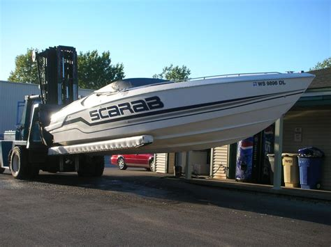 Scarab Boats Specs by 34 Scarab Boats For Sale