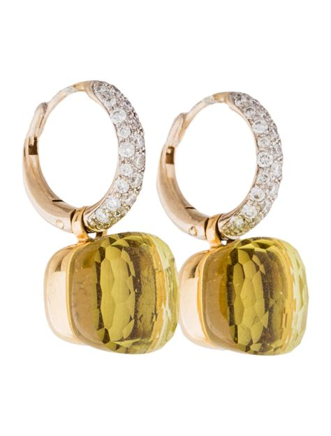 pomellato nudo earrings pomellato nudo earrings earrings pom20742 the realreal