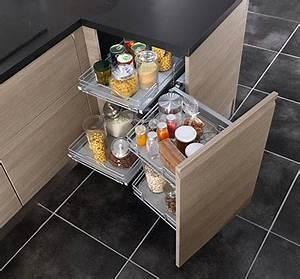 Meuble En Coin : meuble en coin pour cuisine cuisine en image ~ Teatrodelosmanantiales.com Idées de Décoration