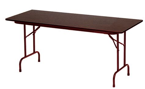 48 x 30 folding table 48 quot x 24 quot 5 8 quot thick melamine folding table other sizes