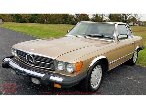 1983 mercedes 380 sl sports. 1983 Mercedes-Benz 380SL for Sale | ClassicCars.com | CC-1040817