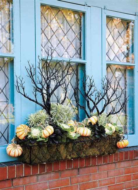 Herbstdeko Fensterbrett by Pin Andrea Gruber Auf Fall Deco Herbst K 228 Sten