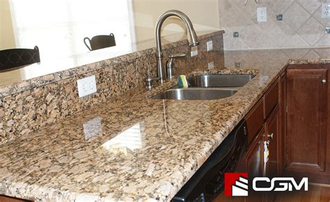 giallo fiorito classic granite kitchen countertops