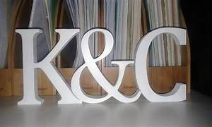 White wooden letters signs and numbers free standing for Large freestanding wooden letters