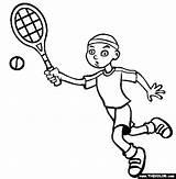 Tennis Coloring Racket Clipartpanda Printable Adult Terms sketch template