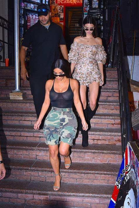 kim kardashian rocks  eye popping ensemble