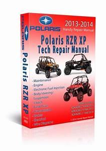 2013 Polaris Rzr Rzrs Xp 4 800 900 Service Manual Cd Only