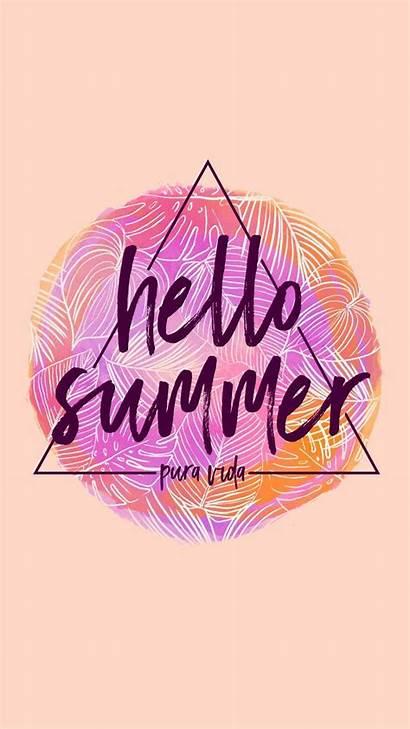 Summer Pura Vida Backgrounds Iphone Hello Wallpapers