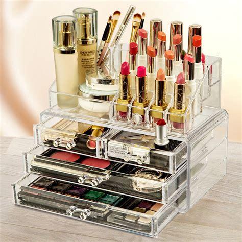 boite de rangement maquillage acrylique cosmetique acrylique boite a levres organisateur rangement maquillage eur 6 99 picclick fr