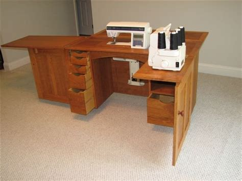 woodwork plans  sewing cabinet   plans