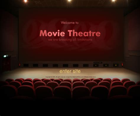 theatre dynamic video gallery flash template html