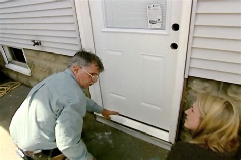 Installing A Prehung Exterior Door  This Old House