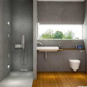 salle de bain avec douche italienne carrelage gris With carrelage salle de bain douche italienne
