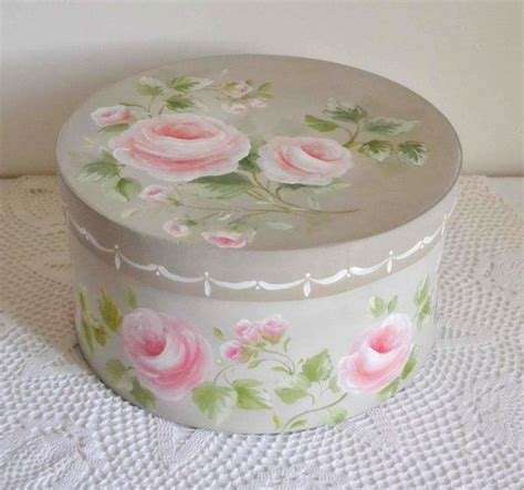 shabby chic hat boxes shabby chic roses bouquet hat box bookish ideas pinterest hats shabby chic and rose bouquet