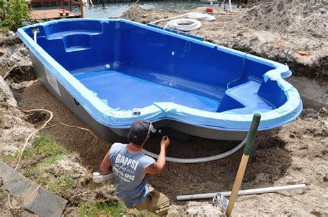 Prefab Fiberglass Inground Pools