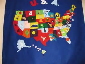 United States Map with Symbols
