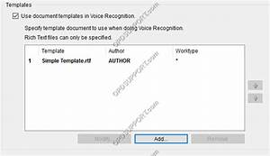 document templates olympus professional dictation support With document recognition software