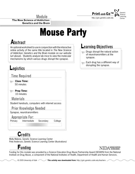 completed worksheets