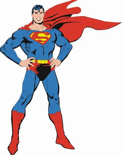 Superman Clipart Superhero Transparent 90s Background Comic