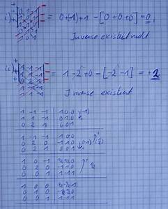 Inverse Matrix Berechnen Mit Rechenweg : invertierbar untersuchen sie indem sie die determinaten berechnen ob matrizen invertierbar ~ Themetempest.com Abrechnung