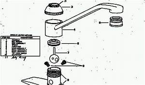 Delta Faucet Repair Diagram