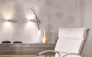 Tapete Mit Kreisen : wandgestaltung im wohnzimmer farbe bekennen kann einfach ~ Orissabook.com Haus und Dekorationen