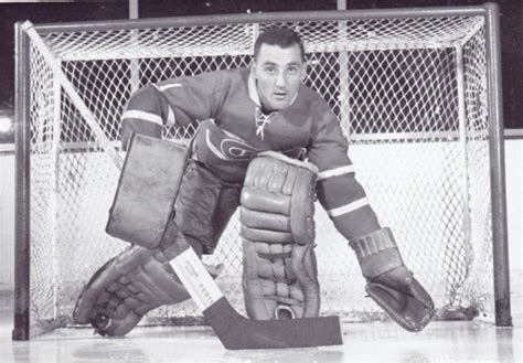 jacques plante  montreal canadiens hockeygods