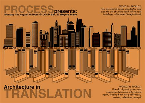 Process Between Words & Worlds  Architecture In
