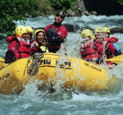 Adrenaline Overdrive River Rafting With Alpin Raft