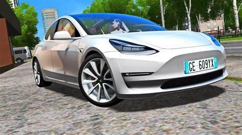 City Car Driving 1.5.5 Tesla Model 3 2018